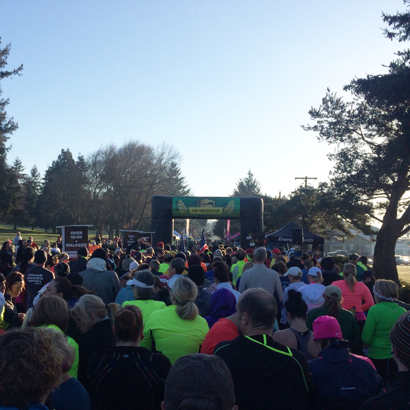 2015 Fort Vancouver Run Starting Line